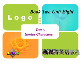 Book Two Unit Eight