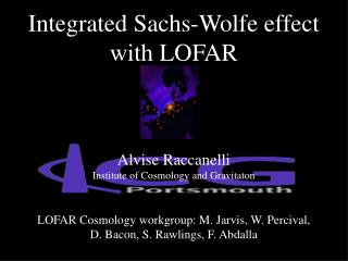 Integrated Sachs-Wolfe effect with LOFAR