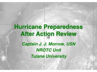 Hurricane Preparedness After Action Review