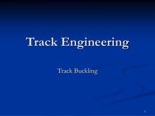 Track Engineering