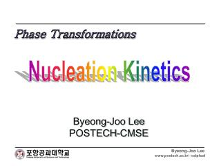 Nucleation Kinetics