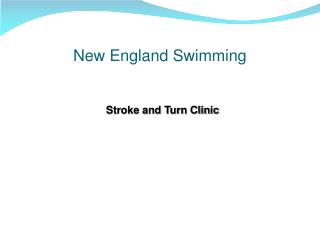New England Swimming