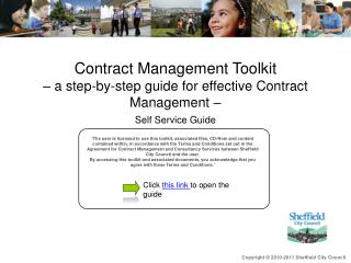 Contract Management Toolkit  – a step-by-step guide for effective Contract Management –