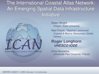 The International Coastal Atlas Network: An Emerging Spatial Data Infrastructure Initiative