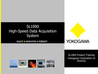 SL1000 High-Speed Data Acquisition System