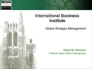 International Business Institute