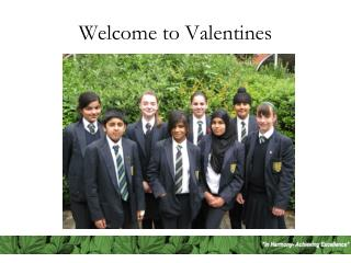 Welcome to Valentines