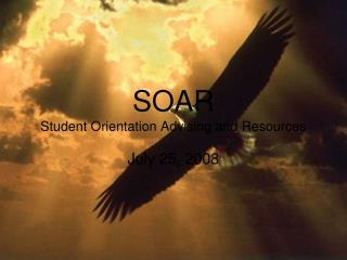 SOAR Student Orientation Advising and Resources