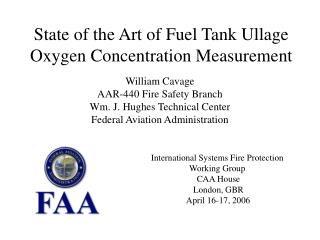 State of the Art of Fuel Tank Ullage Oxygen Concentration Measurement