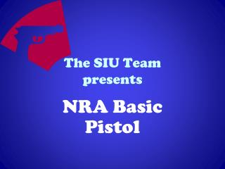 The SIU Team  presents