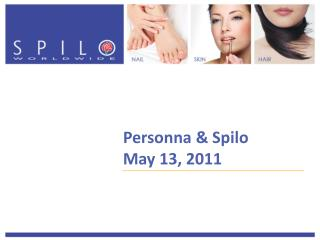 Personna & Spilo May 13, 2011