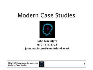 Modern Case Studies