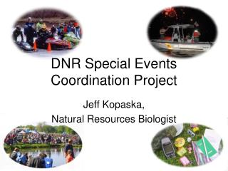 DNR Special Events Coordination Project