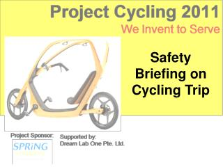 Safety Briefing on Cycling Trip