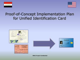 Proof-of-Concept Implementation Plan for Unified Identification Card