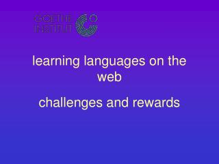 learning languages on the web