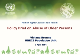Human Rights Council Social Forum Policy Brief on Abuse of Older Persons