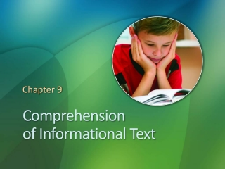 Expository Comprehension