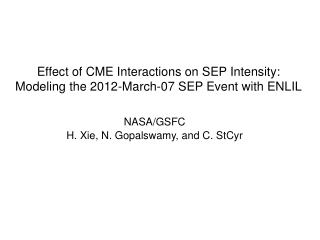 Effect of CME Interactions on SEP Intensity:  Modeling the 2012-March-07 SEP Event with ENLIL