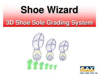 Shoe Wizard 3 D Shoe Sole Grading System