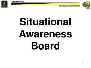 Situational Awareness Board