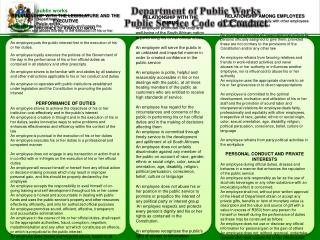 public works Department: Public works PROVINCE OF KWAZULU NATAL
