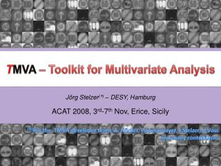 T MVA  – Toolkit for Multivariate Analysis
