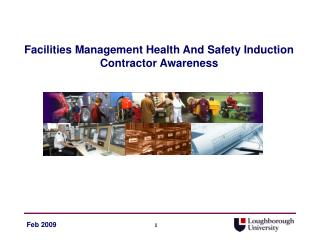 Facilities Management Health And Safety Induction Contractor Awareness