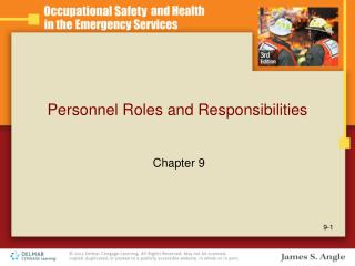 Personnel Roles and Responsibilities