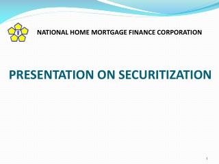 PRESENTATION ON SECURITIZATION