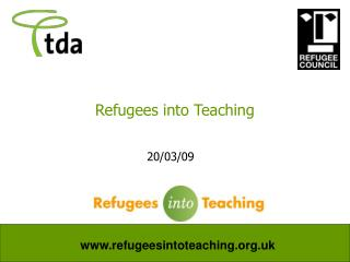 Refugees into Teaching