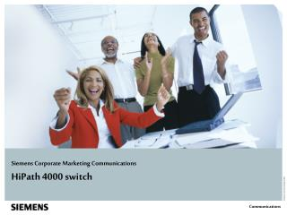 HiPath 4000 switch