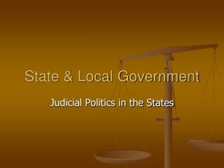 State & Local Government
