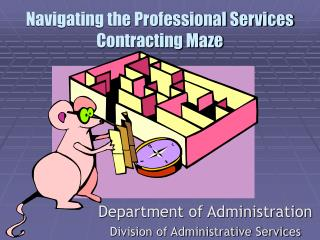 Navigating the Professional Services Contracting Maze