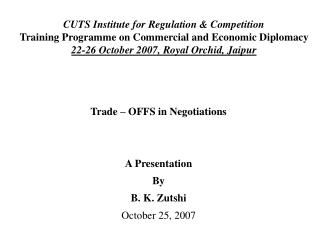 CUTS Institute for Regulation & Competition