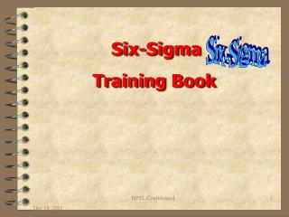 Six-Sigma  Training Book