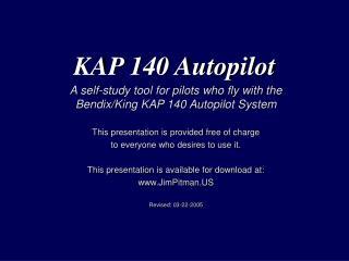 KAP 140 Autopilot