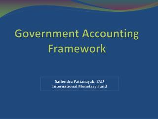Government Accounting Framework