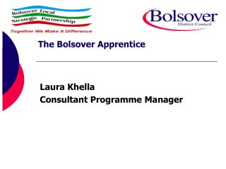 Laura Khella Consultant Programme Manager