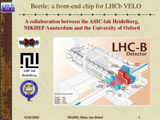 Beetle; a front-end chip for LHCb VELO