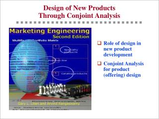 Design of New Products Through Conjoint Analysis