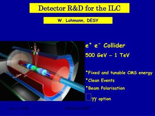 Detector R&D for the ILC