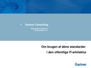 Gartner Consulting