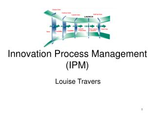 Innovation Process Management (IPM)