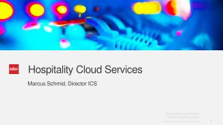 Hospitality Cloud Services