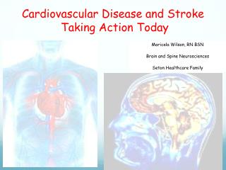Cardiovascular Disease and Stroke  Taking Action Today