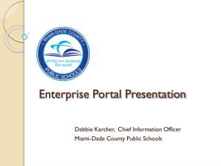 Enterprise Portal Presentation