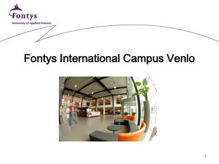 Fontys International Campus Venlo