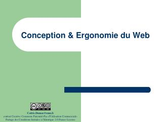 Conception & Ergonomie du Web