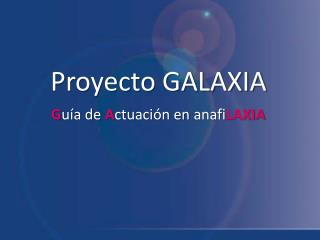 Proyecto GALAXIA